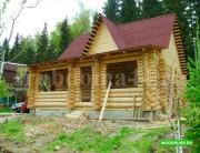 Строительство деревянных домов из бревна и бруса под ключ с доставкой. Москва